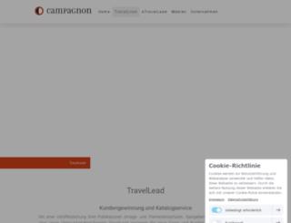 travellead.info screenshot