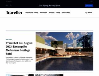 traveller.com.au screenshot