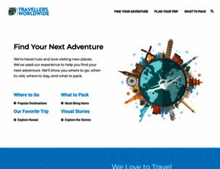 travellersworldwide.com screenshot