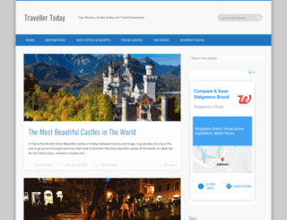 travellertoday.com screenshot