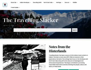 travellingslacker.com screenshot