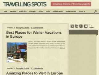 travellingspots.com screenshot