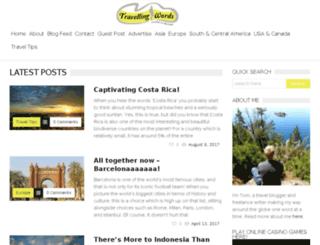 travellingwords.com screenshot