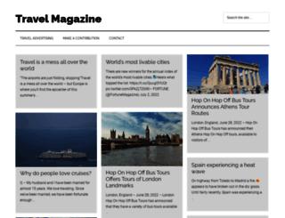 travelmagazine.org screenshot