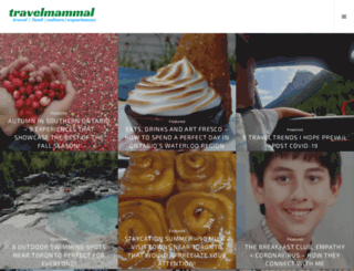 travelmammal.wordpress.com screenshot