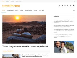 travelmemo.com screenshot