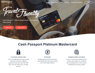 travelmoneyoz.cashpassport.com.au screenshot