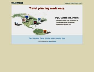 travelmuse.com screenshot