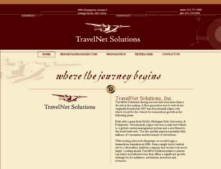 travelnetsolutions.com screenshot