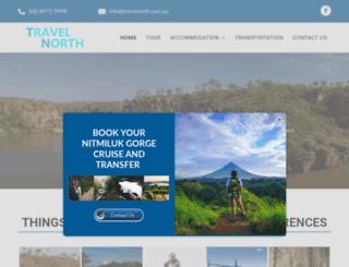 travelnorth.com.au screenshot