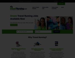 travelnursing.com screenshot