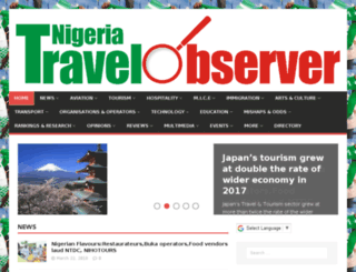 travelobserver.com.ng screenshot