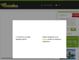 travelon.hu screenshot