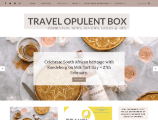 travelopulentbox.com screenshot