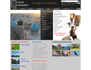 travelornament.com screenshot