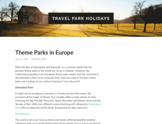 travelparkholidays.com screenshot