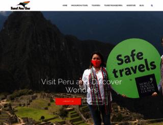travelperutour.com screenshot