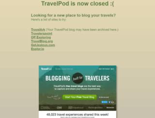 travelpod.com screenshot