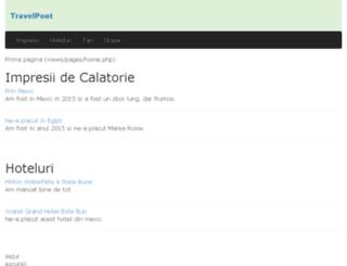 travelpont.ro screenshot