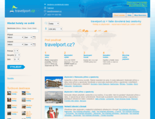 travelport.cz screenshot