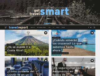 travelreportmx.com screenshot