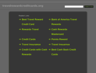 travelrewardcreditcards.org screenshot