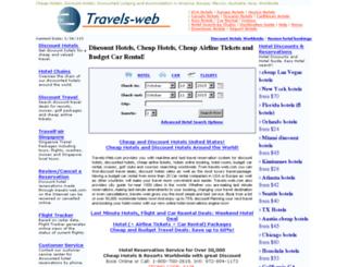 travels-web.com screenshot