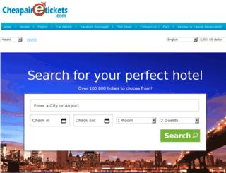 travels.cheapairetickets.com screenshot