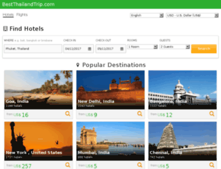 travelsearch.bestthailandtrip.com screenshot