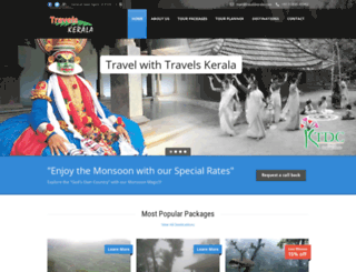 travelskerala.com screenshot