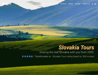 travelslovakia.sk screenshot