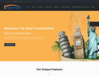 travelsolutions.trip-smart.com screenshot