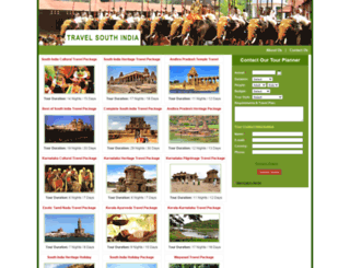 travelsouthindia.org screenshot
