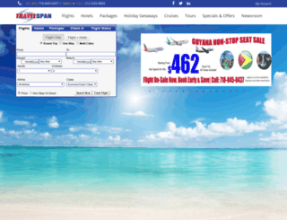 travelspan.com screenshot