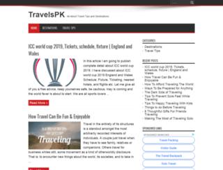 travelspk.com screenshot