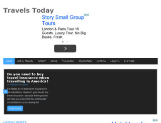 travelstoday.info screenshot