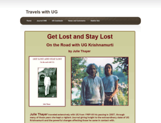 travelswithug.com screenshot
