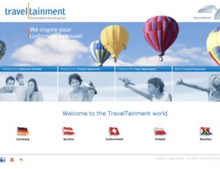 traveltainment.fr screenshot