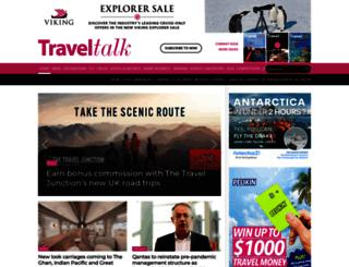 traveltalkmag.com.au screenshot
