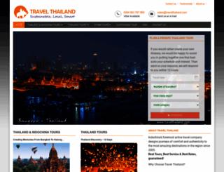 travelthailand.com screenshot