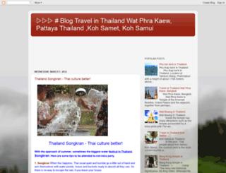 travelthailandtour.blogspot.com screenshot