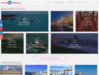 travelthegalaxy.com screenshot
