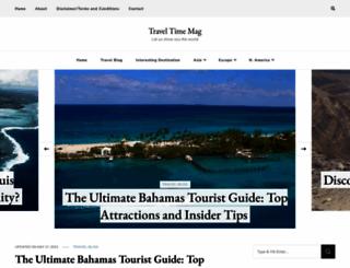 traveltimes-mag.com screenshot