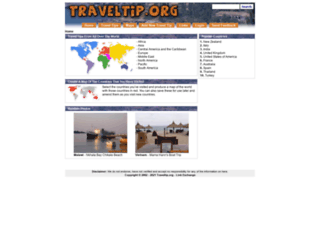 traveltip.org screenshot