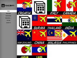 traveltoapps.org screenshot