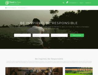 traveltocare.com screenshot