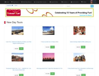 traveltoe.com screenshot
