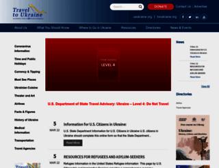 traveltoukraine.org screenshot