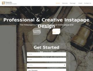 traveltour.centerform.designer.instapage.com screenshot