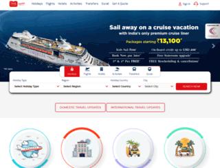 traveltours.in screenshot